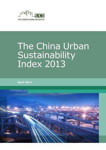 The-China-urban-sustainability-index-2013