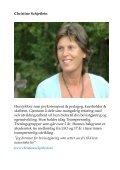 BEVISSTHET OG KOSTHOLD - Christine Arentz Schjetlein - Page 6
