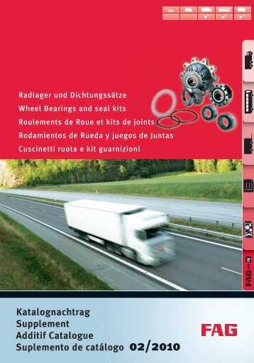 Katalognachtrag Supplement Additif Catalogue ... - Auto-Land.pl