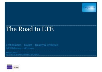 The Road to LTE - Awt