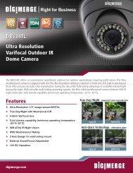 DBV34TL Spec - A-1 Alarm Protection