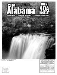 Instructions - Alabama Department of Revenue
