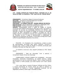17ª. sessão ordinária do Tribunal Pleno, realizada em 1º. de Julho ...