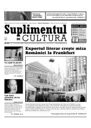 Exportul literar cre[te miza României la Frankfurt - Suplimentul de ...