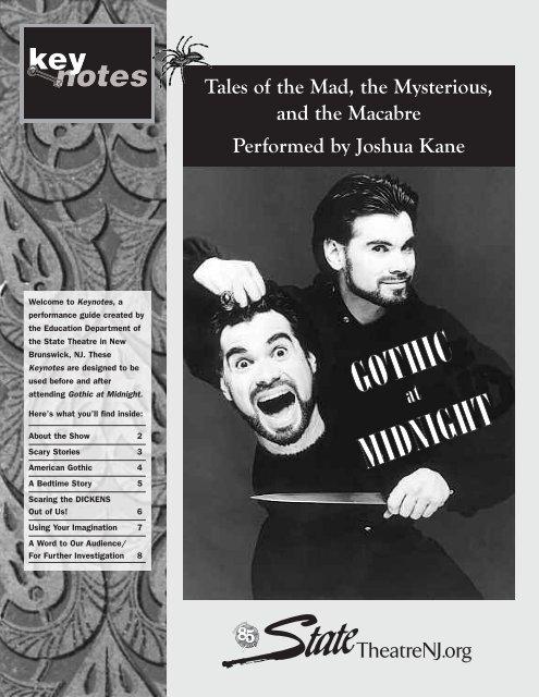 Gothic at Midnight.qxd - State Theatre