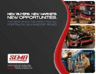 FOR TRuck, SuV AnD OFF-ROAD. - SEMA Show