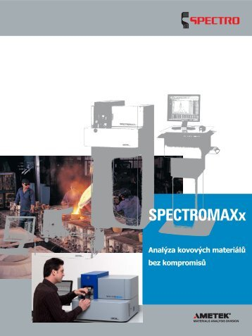SPECTROMAXx - brožura - SPECTRO CS