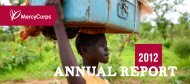 View our 2012 Annual Report - Mercy Corps