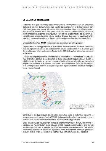 La desserte de la gare SNCF et de la gare routière, établie par ...