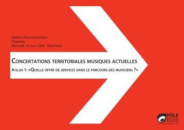 dossier documentaire (Charente) - Concertations Musiques Actuelles