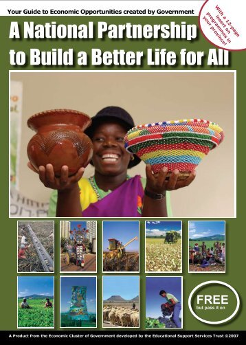 A National Partnership to Build a Better Life for All - South African ...