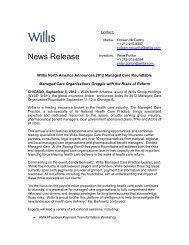 Download PDF - Willis