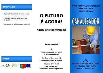 descarregar aqui o panfleto informativo - Agrupamento de Escolas ...