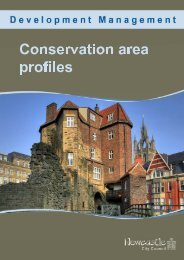 Conservation area profiles - Newcastle City Council