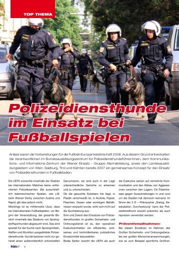 Polizeihunde - Kripo.at