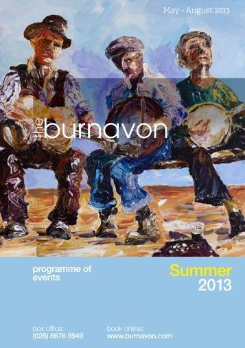 Download Season Brochure - The Burnavon