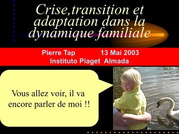 Adaptation - Pierre TAP
