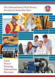 Fluid Power Training Information Brochure The International Fluid ...