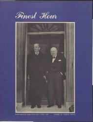 prime minister eden with wsc, 7 april 1955 - Winston Churchill
