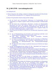 10. § 100 GWB - Anwendungsbereich - Oeffentliche Auftraege