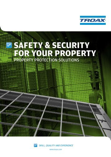 safety & security for your property - Automation & Robotics - Troax