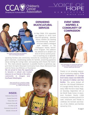 Expanding Multicultural sErvicEs EvEnt sEriEs inspirEs a coMMunity ...