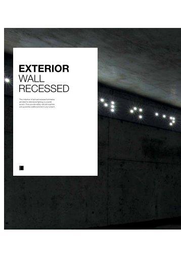 EXTERIOR WALL RECESSED - Delta Light