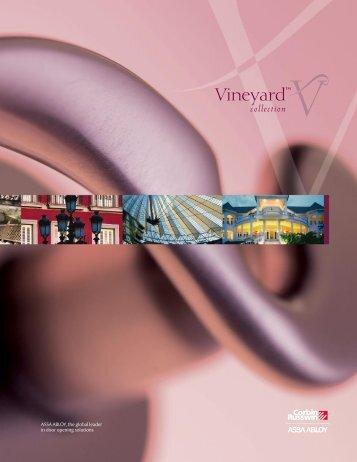 Vineyard Catalog - Corbin Russwin
