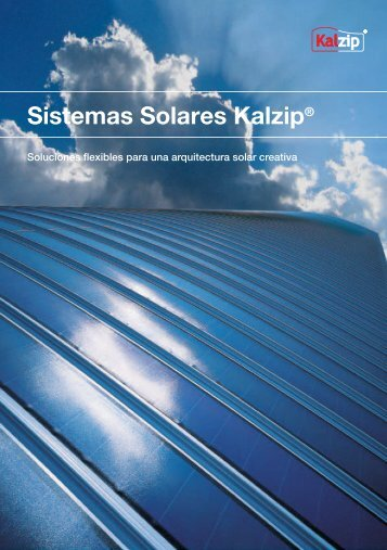 Sistemas Solares Kalzip®