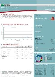 PARVEST EQUITY CHINA - BNP Paribas Investment Partners