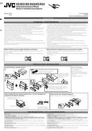 KD-R531/KD-R432/KD-R431 - Jvc