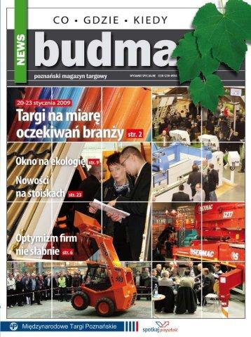 BUDMA News - MTP - Międzynarodowe Targi Poznańskie