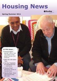 Housing News - Spring/Summer 2011 - Reading Borough Council