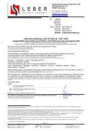 Lieferantenerklärung nach VO (EG) Nr. 1207 / 2001 ...