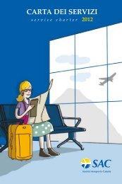 Carta dei Servizi 2012 - Aeroporto di Catania