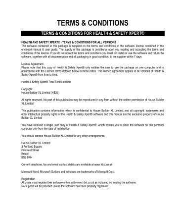statement of terms and conditions of employment template - method statement template hbxl