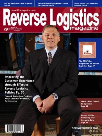 3PSPs - Reverse Logistics Magazine