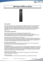 USV Eaton 93PM von Eaton - BellEquip GmbH