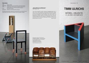 TIMM ULRICHS - Kulturforum Schorndorf