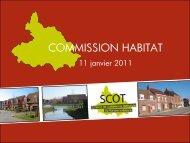 Commission habitat du 11.01.11 - Pays Cœur de Flandre