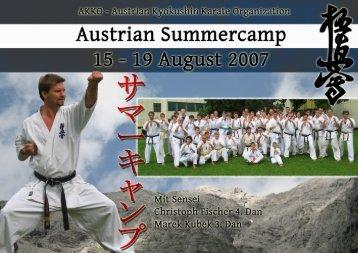 sommercamp2007 1 - Kyokushin Karate Klub