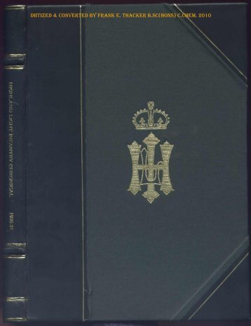 HLI Chronicle 1921 - The Royal Highland Fusiliers