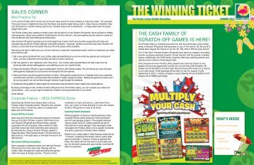 The Winning Ticket - Summer 2012 - The Florida Lottery