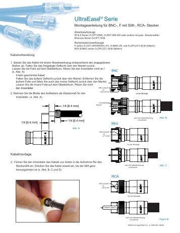 G-1400-663 UE_RCA_BNC_minicoax Install.qxp - H+E Dresel
