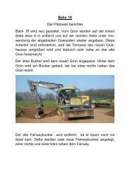 Bahn 18 - Golfclub Wasserburg Anholt