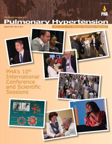 PHA's 10th International Conference and Scientific Sessions, Fall ...