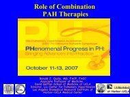 2007 Symposium Role of Combination Therapy - PHA Online ...