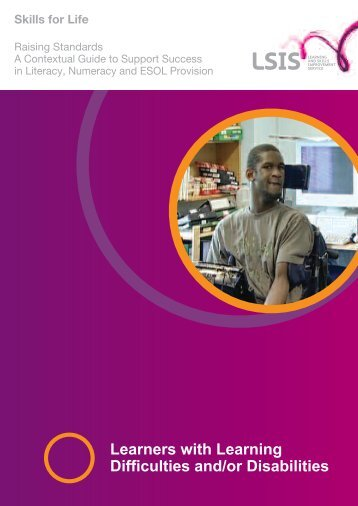Learners with Learning Difficulties and/or Disabilities - Skills for Life ...