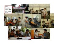 blood donation highlights