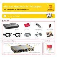 Installatiegids Digibox DB-AD120 - Klantenservice - Telenet